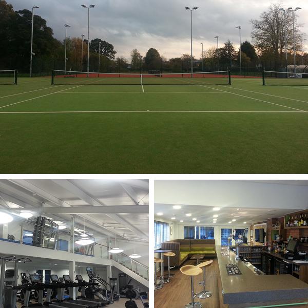 Grantham Tennis Club, Nottinghamshire