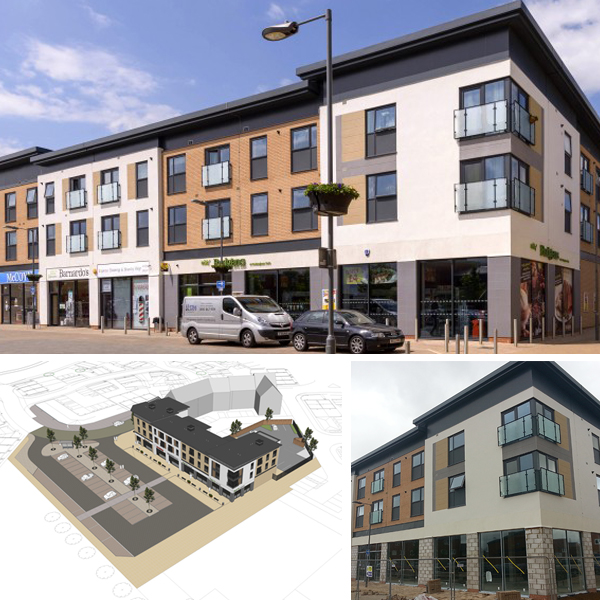 Weedon Apartments and Retail